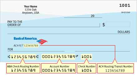 How to find your account number on a check ?