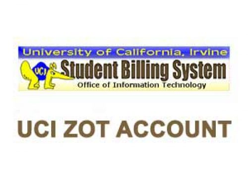Access to your UCI Zot account online | Login for Guest