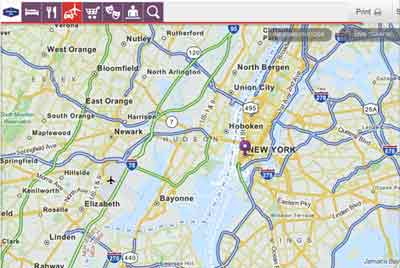 Mapquest New-york