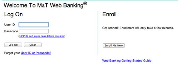 Create banking account