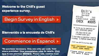 Make Chilis survey
