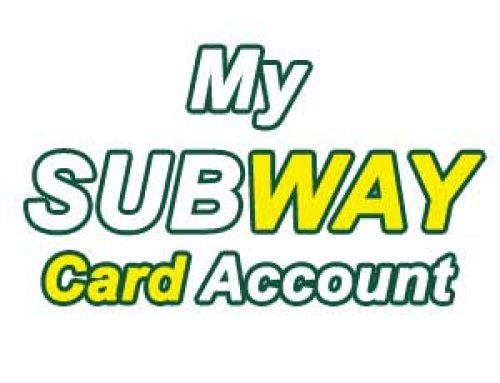 How to get My Subway Card ? | Registration & Rewards