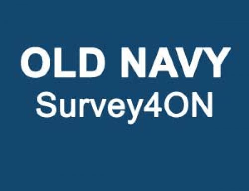 Share your Experience on Survey4ON | Old Navy Survey