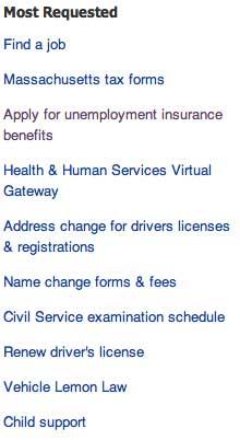 Unemployment insurance DUA