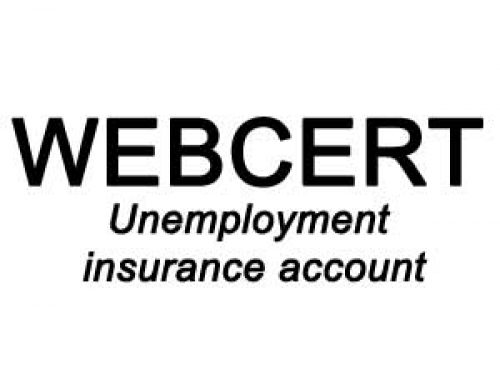 What's needed for an Unemployment Webcert Insurance Account ?