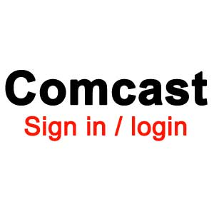 Comcast sign-in login