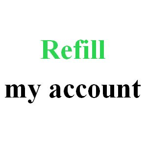 Refill My Account