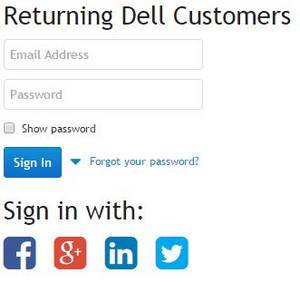 Dell preferred account sign in
