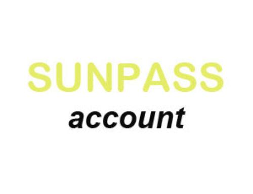 Createand activate my SunPass Account| Setup & Transfer Form