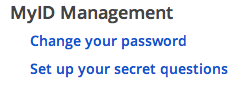 Change your Password
