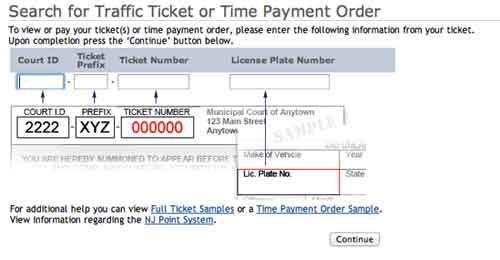 NJMC time ticket
