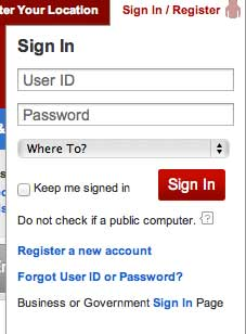Verizon password