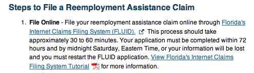 Remployment assistance claim