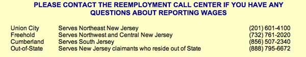Reemployment call center