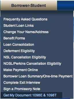 Student online document
