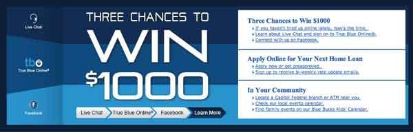 Capfed win 1000 dollars