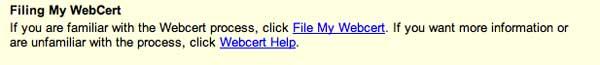 File webcert