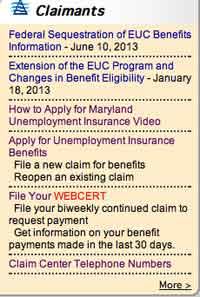 Maryland claimant