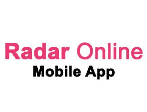Download the Radar Online Mobile App