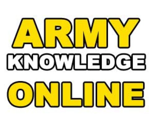 How to use Army Knowledge Online ? | Help Desk & Login Page