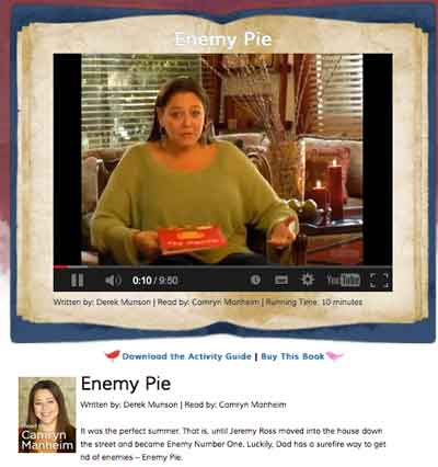 Story enemy pie