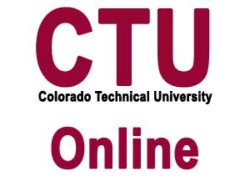 CTU Online login & Password Recovery | Colorado Springs