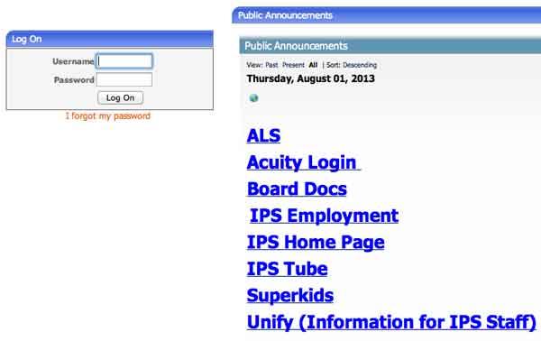 Login IPS online