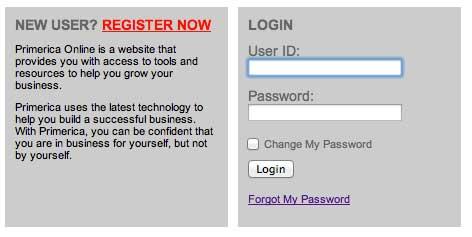 Register Primerica