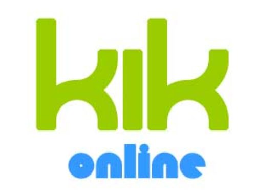 KIK Online Messenger login | Register on www.kik.com