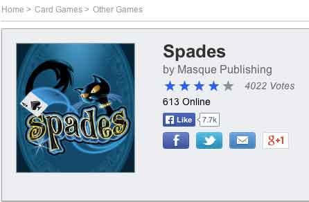 Spades games