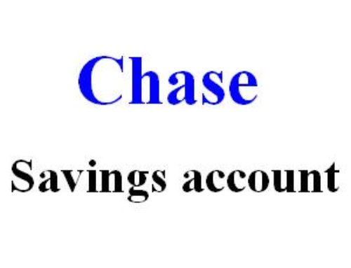 Start with Chase Savings Account | Fee, Coupons & Review