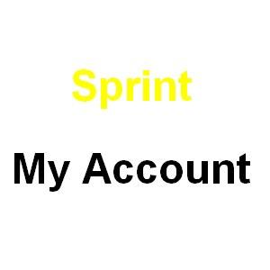 Sprint my account