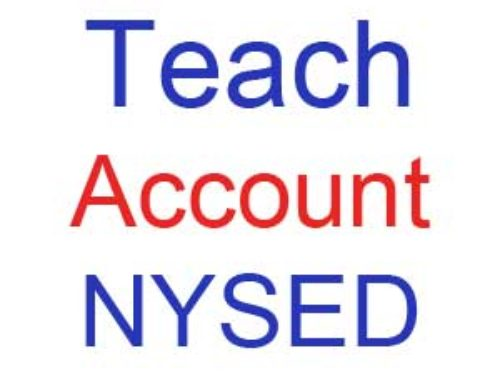 How to create my Teach Account NYSED? | Online Information